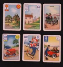 Collectible  Cards game. Belisha.by pepys motoring